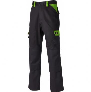 Dickies WD340 Everyday 24-7 Trousers (Black/Lime)